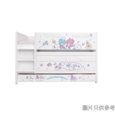 Sanrio CTD-TB02 多功能組合床(書檯,子床及六櫃桶) - Little Twin Stars-C (面向計左樓梯)