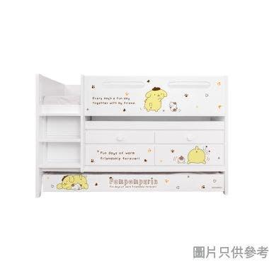 Sanrio CTD-TB02 多功能組合床(書檯,子床及六櫃桶) - 布甸狗-B (面向計左樓梯)
