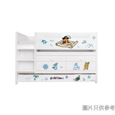 Sanrio CTD-TB02 多功能組合床(書檯,子床及六櫃桶) 蛋黃哥-B (面向計左樓梯)