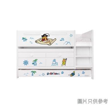Sanrio CTD-TB02 多功能組合床(書檯,子床及六櫃桶) 蛋黃哥-B (面向計右樓梯)