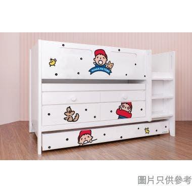 Sanrio CTD-TB02 多功能組合床(書檯,子床及六櫃桶) 大口仔-A (面向計右樓梯)