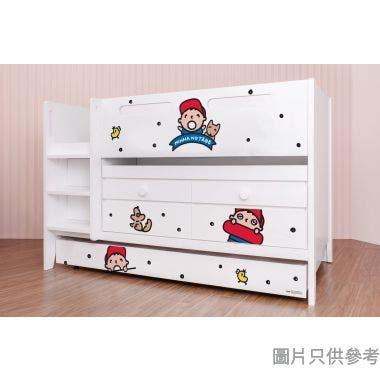 Sanrio CTD-TB02 多功能組合床(書檯,子床及六櫃桶) 大口仔-A (面向計左樓梯)