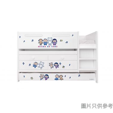 Sanrio CTD-TB02 多功能組合床(書檯,子床及六櫃桶) 大口仔-B (面向計右樓梯)