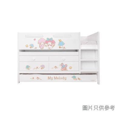 Sanrio CTD-TB02 多功能組合床(書檯,子床及六櫃桶) My Melody-A (面向計右樓梯)