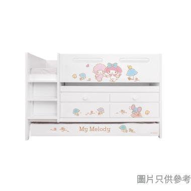 Sanrio CTD-TB02 多功能組合床(書檯,子床及六櫃桶) My Melody-A (面向計左樓梯)