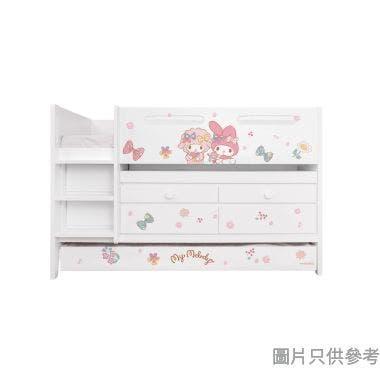 Sanrio CTD-TB02 多功能組合床(書檯,子床及六櫃桶) My Melody-B (面向計左樓梯)