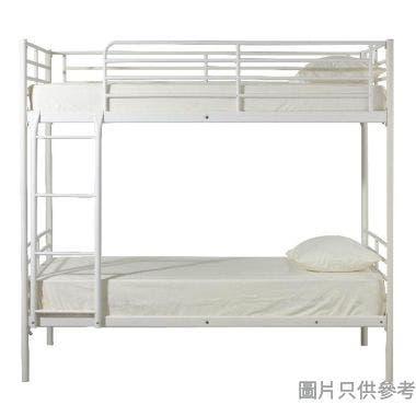 FERRO HQ-30 鋼製雙層床830W x 1910D x 1750Hmm - 白色