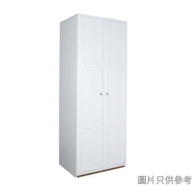 WHITNEY PL-77W2D 雙門三櫃桶衣櫃800W x 600D x 2100Hmm