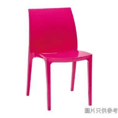 ALLIBERT Sento 防曬戶外塑膠椅 - 深粉紅色