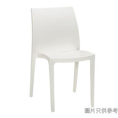 ALLIBERT Sento 防曬戶外塑膠椅 - 白色