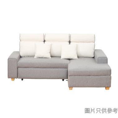 KATHLYN凱蓮HARRIS 1396 兩座位連左貴妃儲物布藝梳化床2180W x 1580D x 1020Hmm
