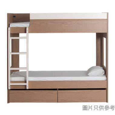 MODI KB-753636 雙層床配兩活動櫃桶(面向計左面梯)1060W x 1880Dmm