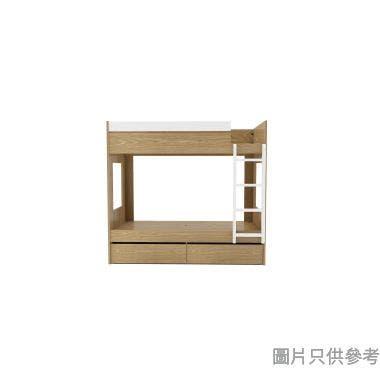 MODI KB-753636R 雙層床配兩活動櫃桶(面向計右面梯)1060W x 1880D x 1710Hmm