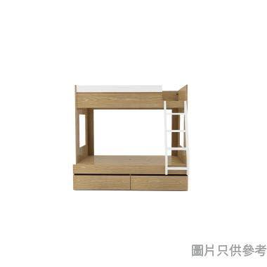 MODI KB-753648R 雙層床配兩櫃桶(面向計右面梯)1060/1350Wx1880Dmm