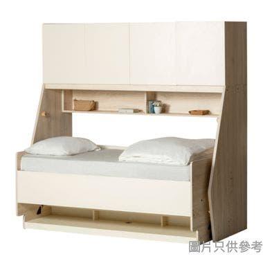 TRANSFORMER 2.0TFII-DESK-B 單人床連書檯及書櫃2000W x 1060Dmm