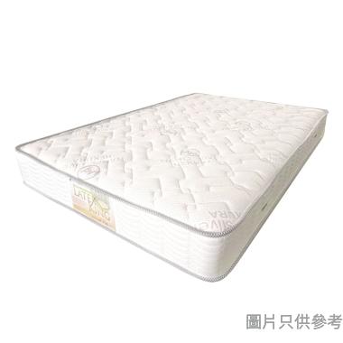 "HEKURA喜居樂 乳膠護脊連鎖彈簧床褥 (厚度5"")"