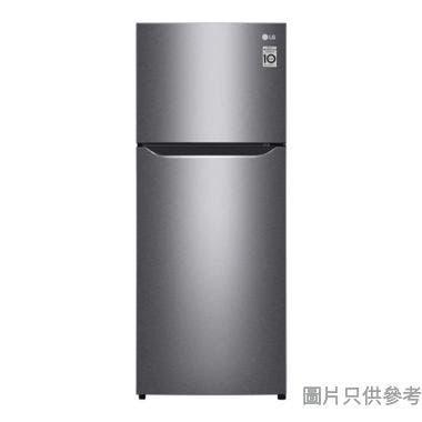 LG  樂金 184L 上置式冷凍型智能變頻雙門雪櫃 GN-B202SQBB