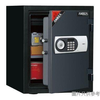 安普 EDL388HB電子密碼+鎖匙防火防水夾萬(黑色)(E)