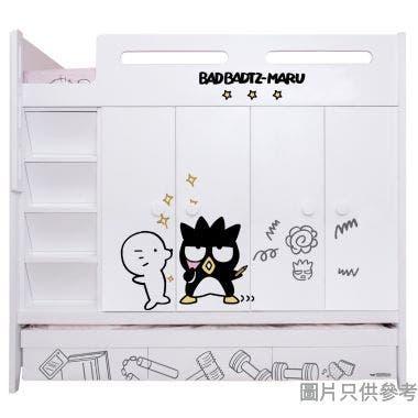Sanrio CTD-WB01 多功能組合床(七櫃桶,子床及衣櫃) - XO-A (面向計左面梯)