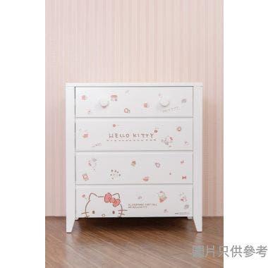 Sanrio CTD-CH01 四桶儲物櫃 Hello Kitty-A