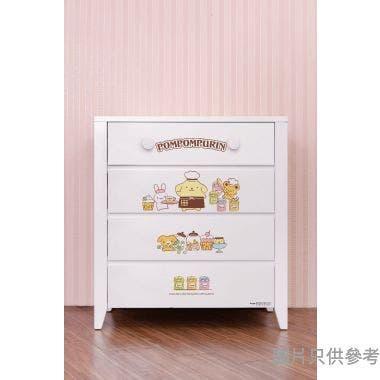 Sanrio CTD-CH01 四桶儲物櫃 布甸狗-A