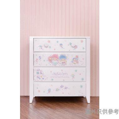 Sanrio CTD-CH01 四桶儲物櫃 Little Twin Stars-A