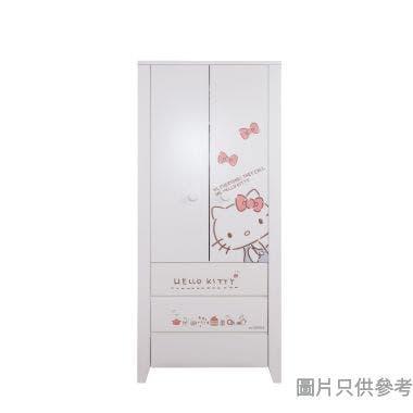 Sanrio CTD-WB0236 36吋雙門三櫃桶衣櫃  Hello Kitty-A