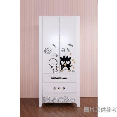Sanrio CTD-WB0236 36吋雙門三櫃桶衣櫃  XO-A