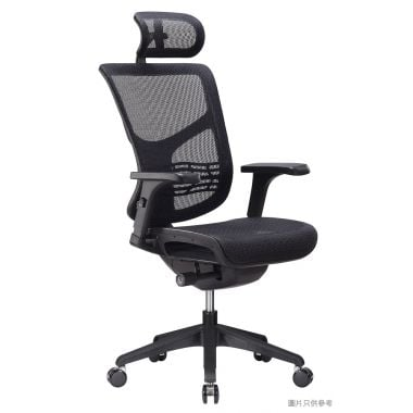 VISTA MID-BACK CHAIR 人體工學書房椅630W x 660D x 1110-1180Hmm