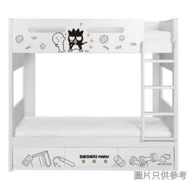 Sanrio CTD-BB03 雙層床配三櫃桶 - XO-A (面向計右樓梯)