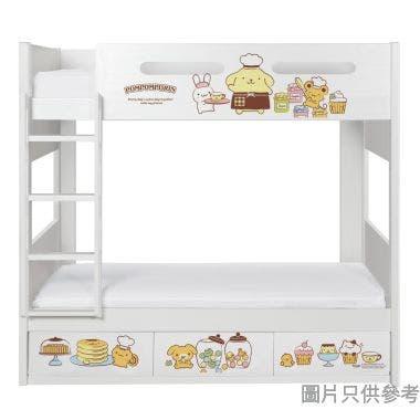Sanrio CTD-BB03 雙層床配三櫃桶 - 布甸狗-A (面向計左樓梯)