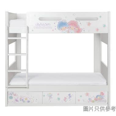 Sanrio CTD-BB03 雙層床配三櫃桶 - Little Twin Stars-A (面向計左樓梯)