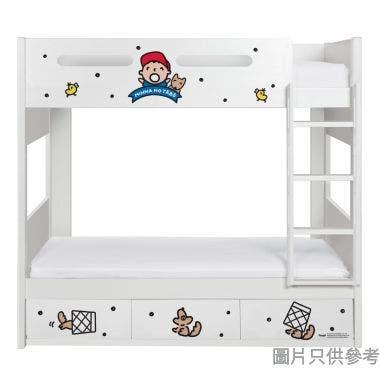 Sanrio CTD-BB03 雙層床配三櫃桶 - 大口仔-A (面向計右樓梯)