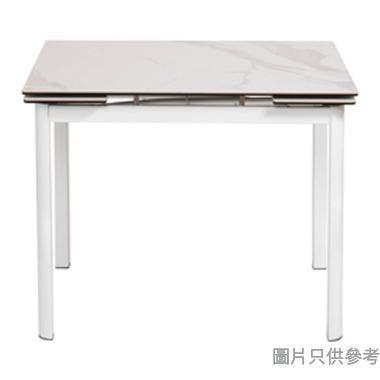 MARMOR-2 DT-6830(MJ-008) 陶瓷玻璃開合餐檯965/1425W x 710D x 760Hmm