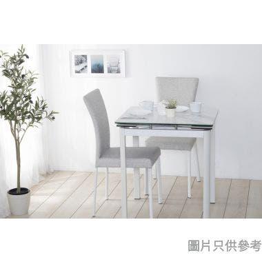 "MARMOR-2 28""陶瓷玻璃開合餐檯連兩椅"