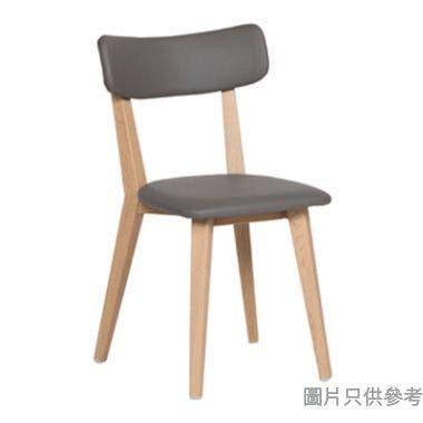 """EDAN HT-A161B 15"""" 仿皮餐椅400W x 520D x 760Hmm"""