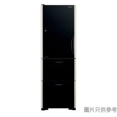 HITACHI 日立273L 三門雪櫃 RSG32KPH-GBK - 黑影玻璃