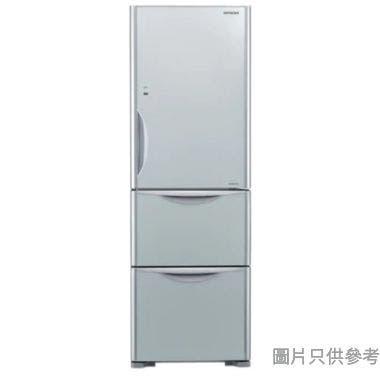 HITACHI 日立273L 三門雪櫃 RSG32KPH-GS - 銀色玻璃