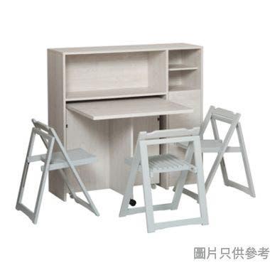 ALBA H-1200+T-800 1+2 飯廳櫃連一檯兩椅 800/1500W x 360/800D x 750Hmm