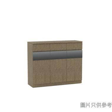 Eden E71148D 三門三桶廳櫃1200W x 400D x 977Hmm - 灰木紋