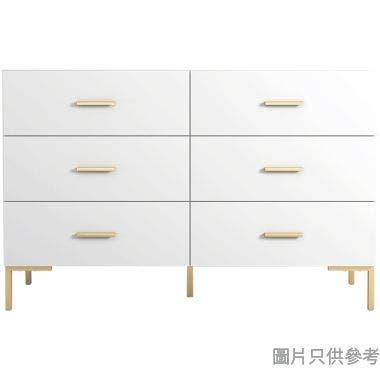 CECIL ESDJ-X901-W 六櫃桶儲物櫃1199W x 351D x 800Hmm - 白色