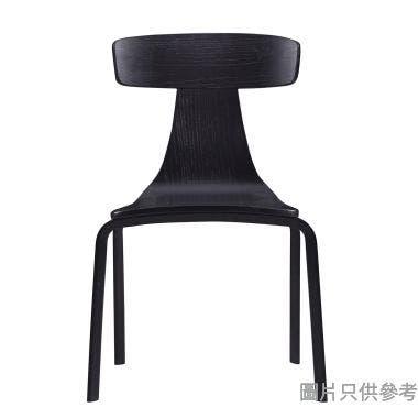 EA-C-18B 餐椅460W x 420D x 780Hmm - 黑橡色