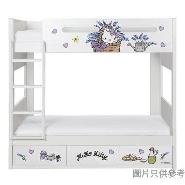 Sanrio CTD-BB03 雙層床配三櫃桶 - Hello Kitty-B (面向計左樓梯)