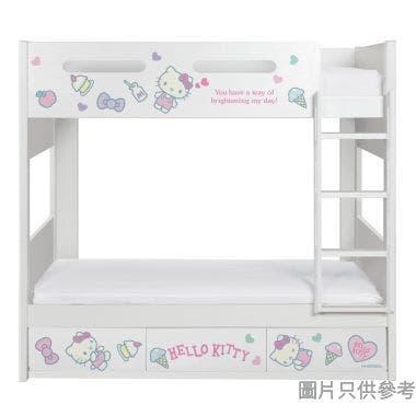 Sanrio CTD-BB03 雙層床配三櫃桶 - Hello Kitty-D (面向計右樓梯)