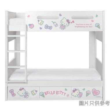 Sanrio CTD-BB03 雙層床配三櫃桶 - Hello Kitty-D (面向計左樓梯)