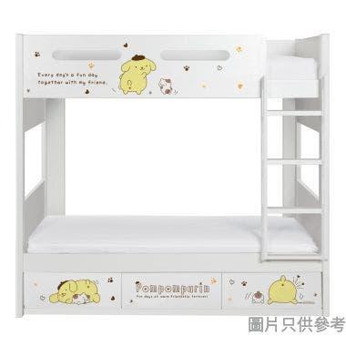 Sanrio CTD-BB03 雙層床配三櫃桶 - 布甸狗-B (面向計右樓梯)