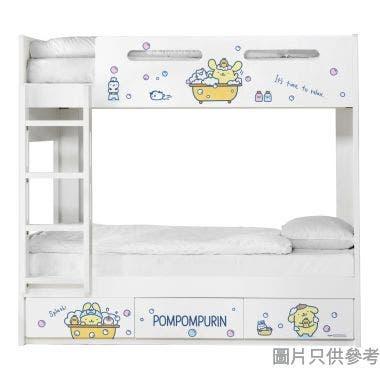 Sanrio CTD-BB03 雙層床配三櫃桶 - 布甸狗-C (面向計左樓梯)