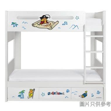 Sanrio CTD-BB03 雙層床配三櫃桶 - 蛋黃哥-B (面向計右樓梯)