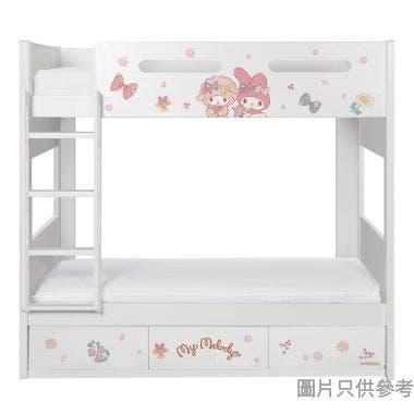 Sanrio CTD-BB03 雙層床配三櫃桶 - My Melody-B (面向計左樓梯)