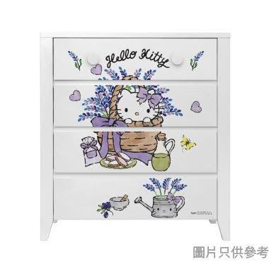 Sanrio CTD-CH01 四桶儲物櫃 Hello Kitty-B